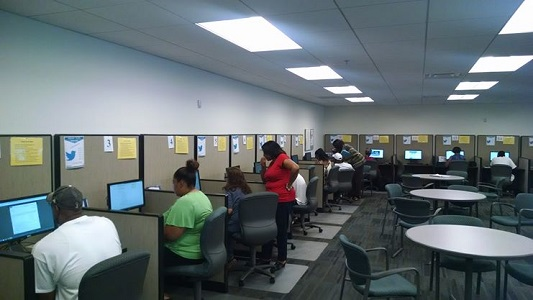 Tennessee Career Center resource room